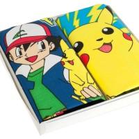 """Mouchoirs enfant """"Pikachu"""" (x2)"""